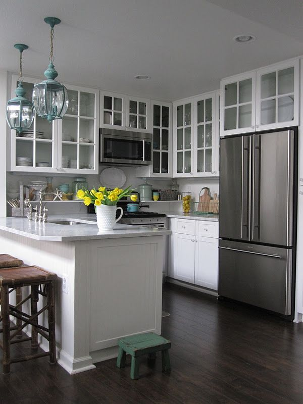 Classic Hardwood Flooring for Kitchen Ideas