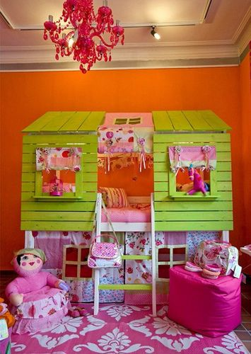 Colorful Girl Bedroom Design adorable
