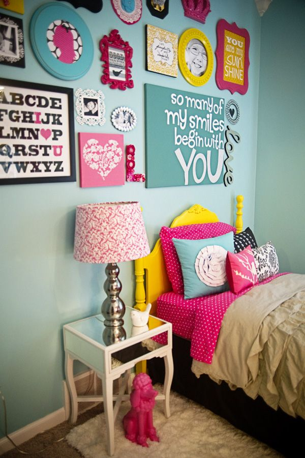 Colorful Girl Bedroom Ideas Adorable little girls room