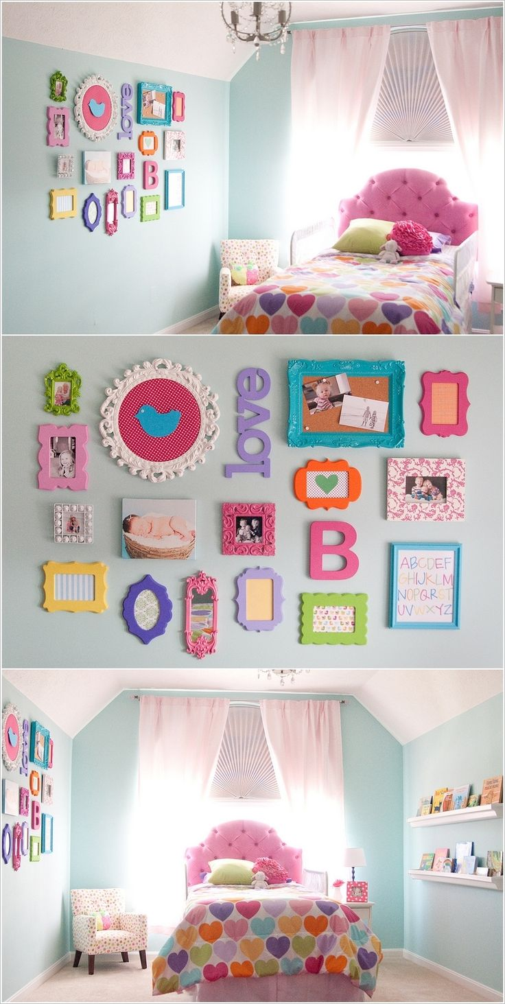 Colorful girl bedroom ideas design a bedroom girl games - Girl colors for bedrooms ...