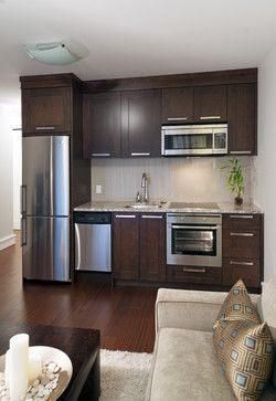 Contemporary Kitchen Cabinets For A Small Kitchen Basement