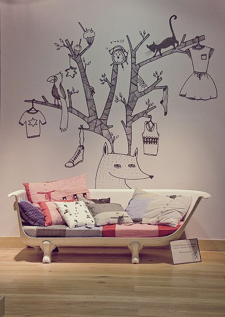 Creative Tree Wall Decal for Children's Room Images