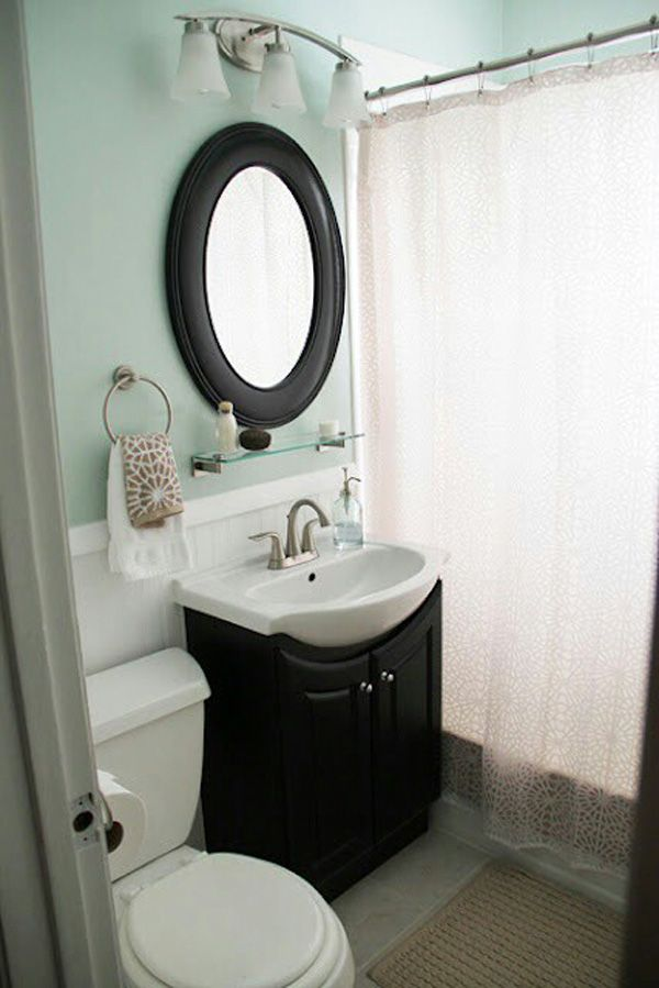 Cute Bathroom Remodeling for Small Bathrooms Would Use an Earthtone Color Instead