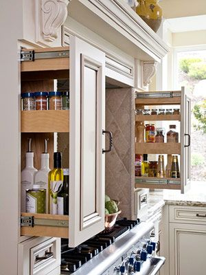 Design For Small Kitchen Cabinets Pull Out Pictures
