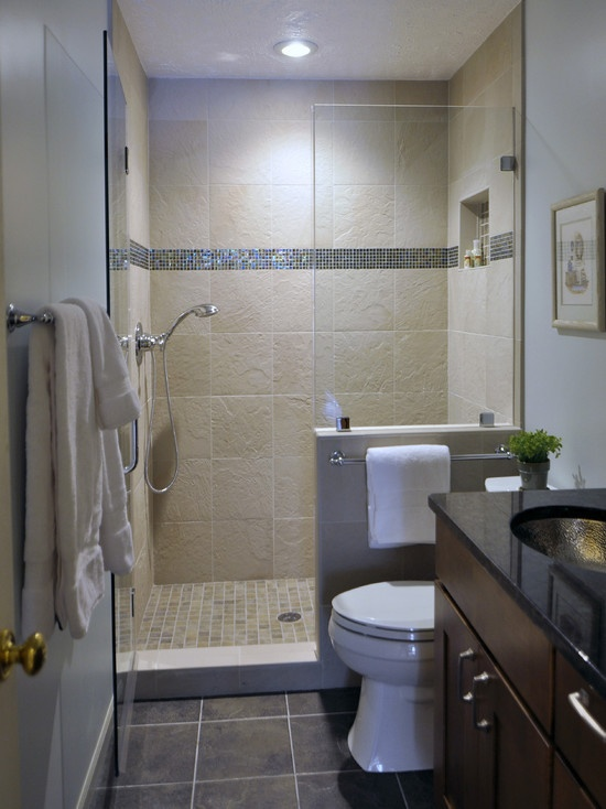 Excellent Small Bathroom Remodeling Design and Layout But that Shower Head is unusually Low