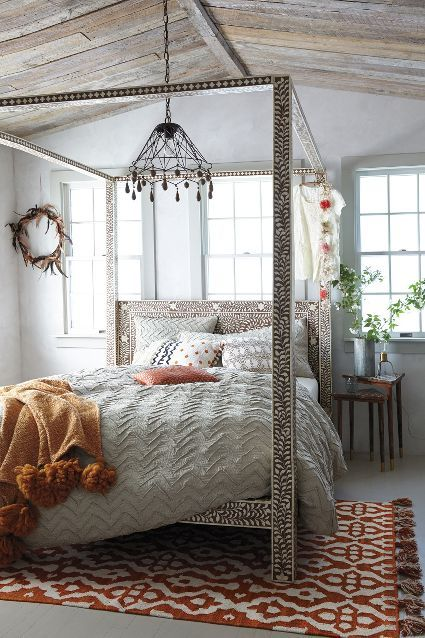 Geat Four Poster Bed Best Material Pictures 06