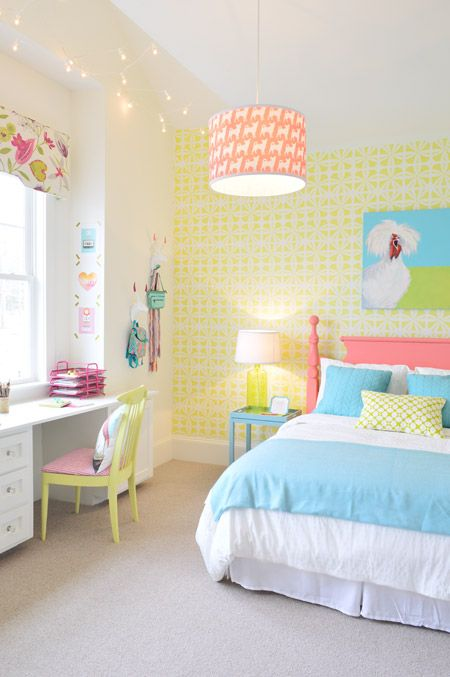 Girl Bedroom Color Schemes Modern Bedroom Design For