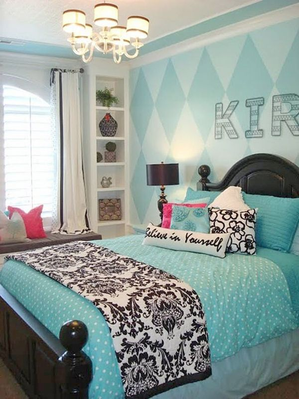 Girl bedroom design ideas cute and cool teenage girl bedroom ideas - Colorful teen bedroom designs ...
