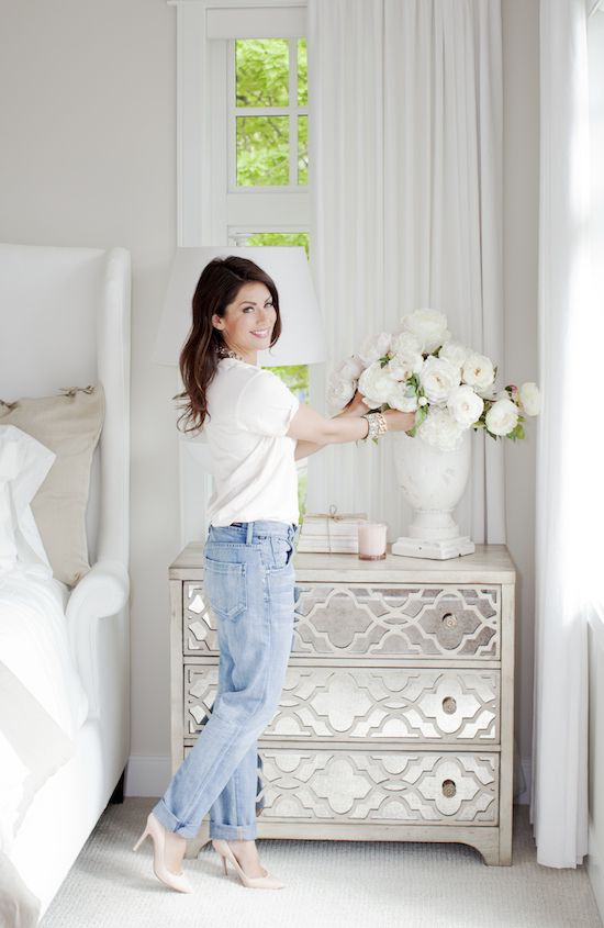 Great White Bedroom Furniture with Cool Bedside table