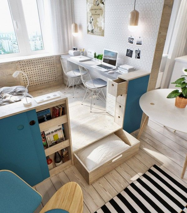 Small studio apartment decorating tips small studio apartment ideas wall divider to separate - Attractive studio apartment decorating ideas must try ...