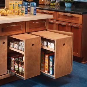 Kitchen Cabinets For Small Kitchens Cabinet Rollouts for Increased Kitchen Storage