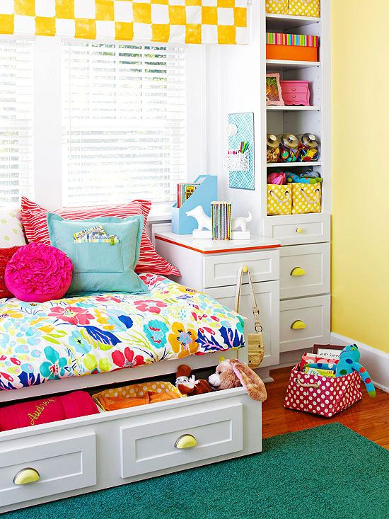 Little Girl Bedroom Colors Love the brightness