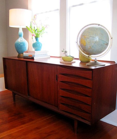 Mid Century Modern Furniture Credenza Decorating Ideas