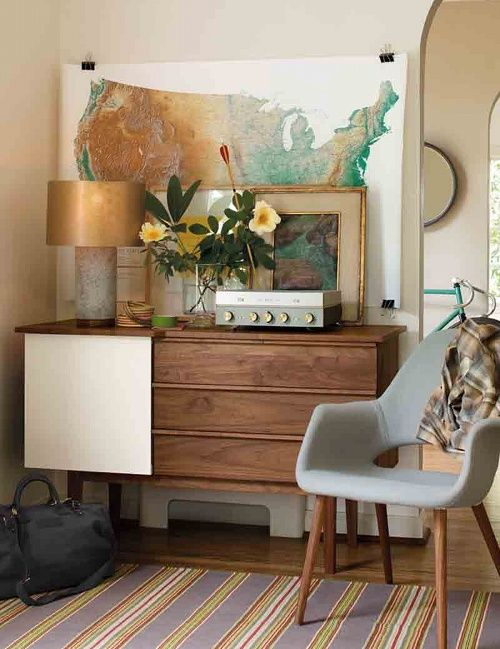 Mid Century Modern Home Decor Furniture Style Ideas