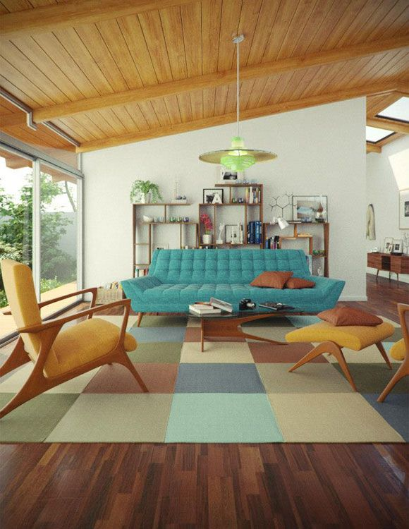 Mid Century Modern Homes Furniture Can Work in Any Home