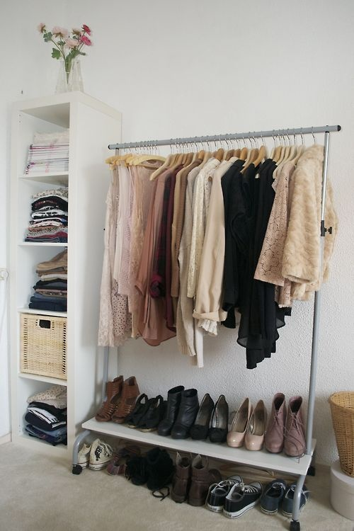 Minimalist Wardrobe Design for Bedroom