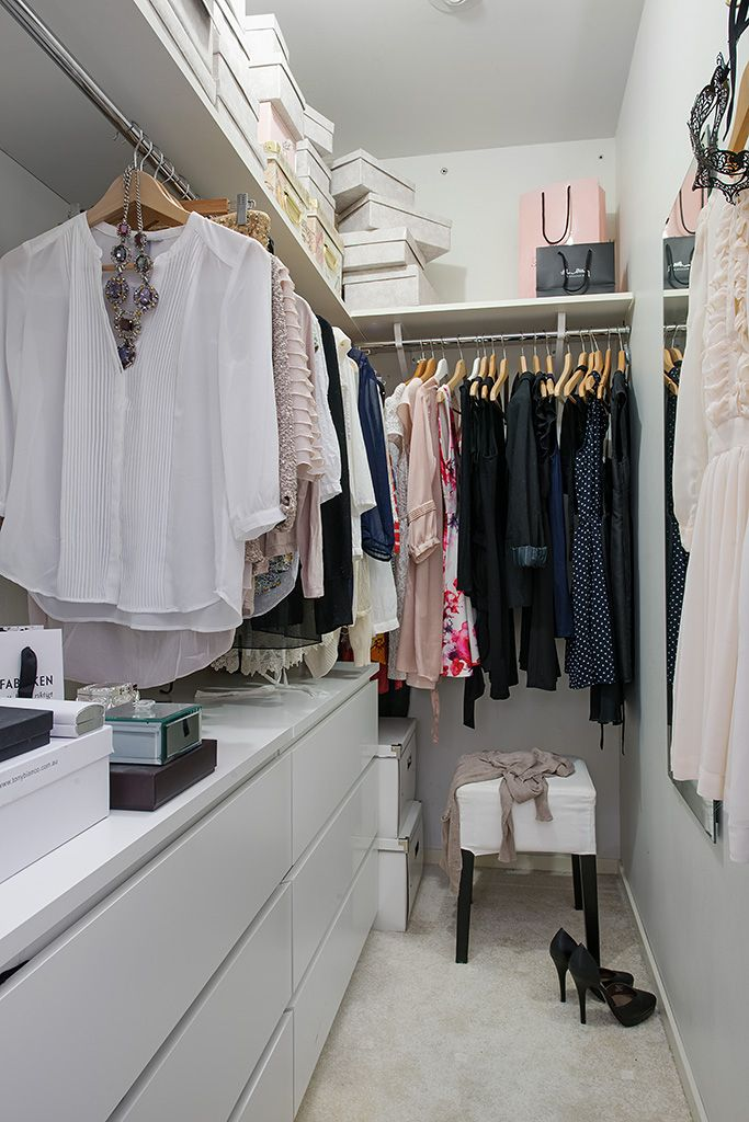 Organize Small Walk in Closet Ideas Images
