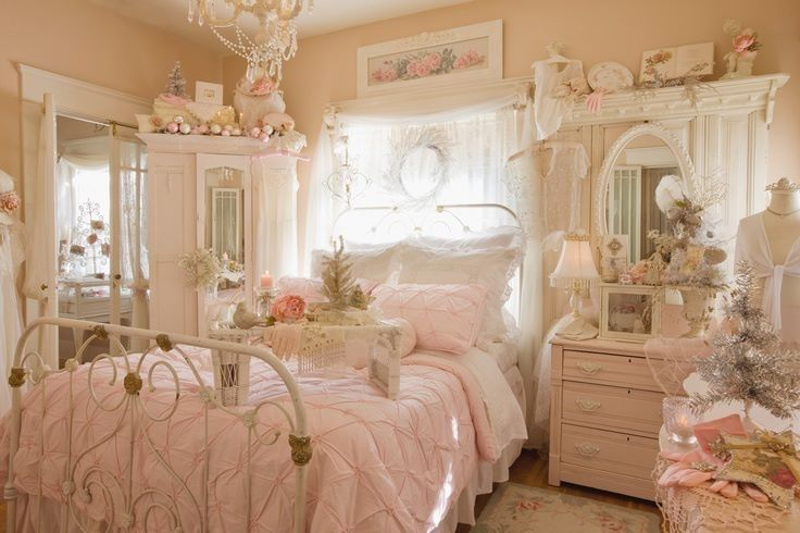 Pretty Shabby Chic Bedding Bedroom Pictures 05