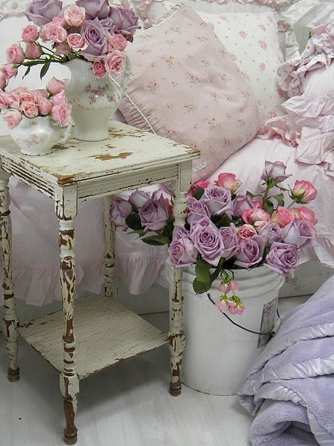 Shabby Chic Bedroom Ideas Ornament Images 016