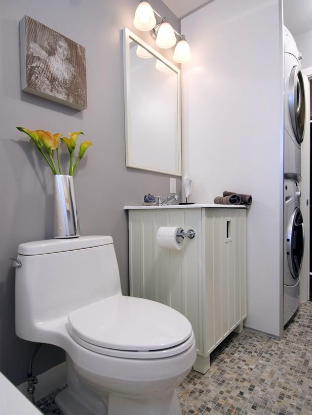 Small Bathroom Designs with Washing Machine Transitional ... on Small Space Small Bathroom Ideas With Washing Machine id=88063