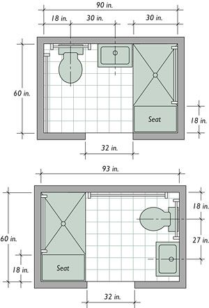 Small Bathroom Floor Plans Layout Simple Bathroom Pictures