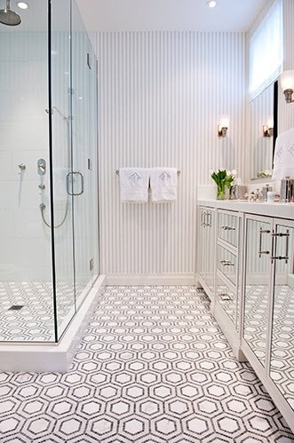 Small Bathroom Ideas with Awesome Floor Type Images