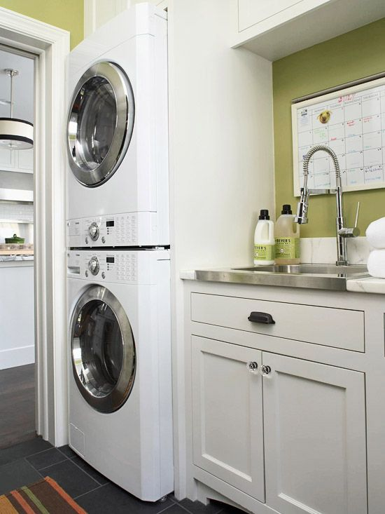 Small Bathroom Design With Washer And Dryer Laundry Or Mud - tiny house design washer dryer