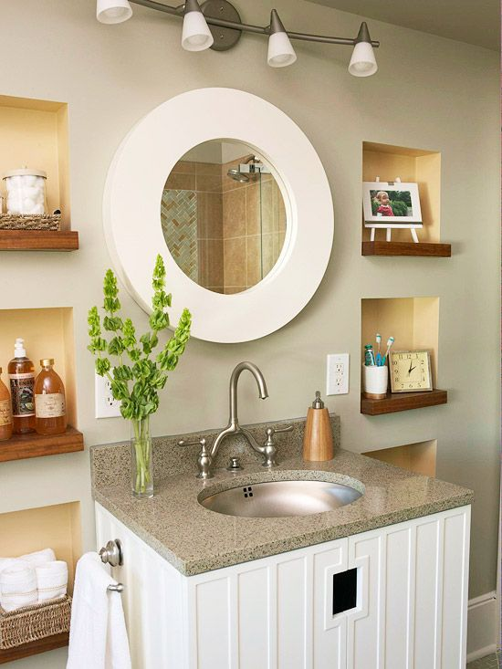 Small bathroom remodeling designs for the best option for Bathroom decor and storage