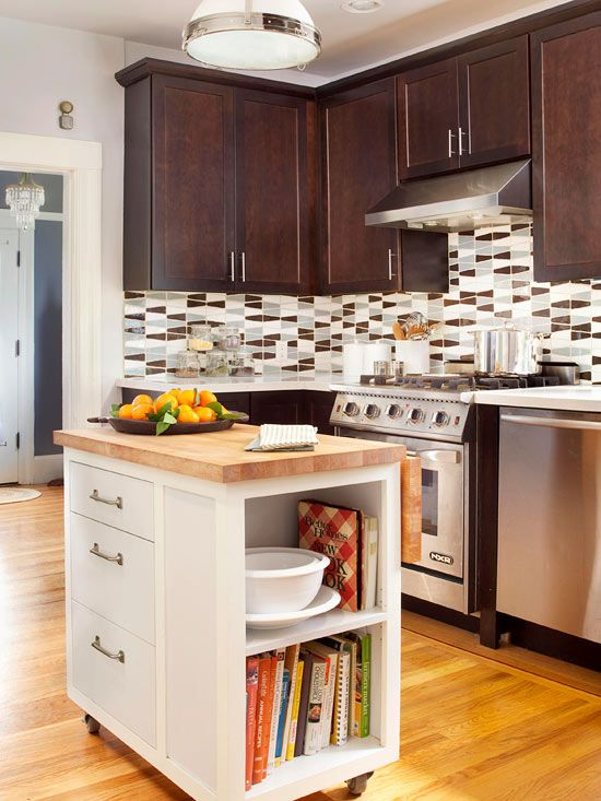 Small Kitchen Cabinets Design Island Ideas Photos