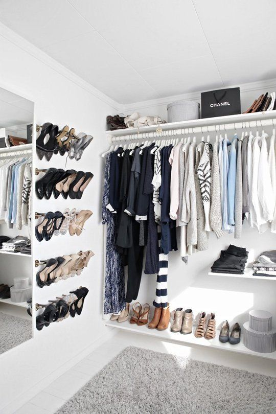 Small Walk in Closet Ideas Design Organization Apartment Pictures