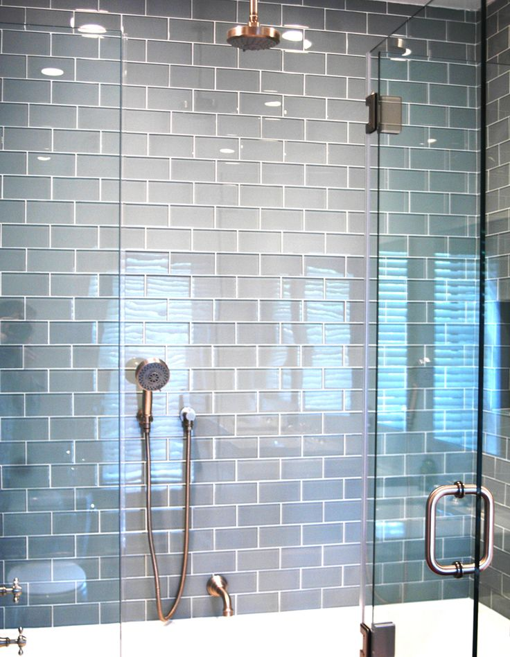 Small bathroom remodel Subway tiles for bathroom tile in gray color Fog Bank