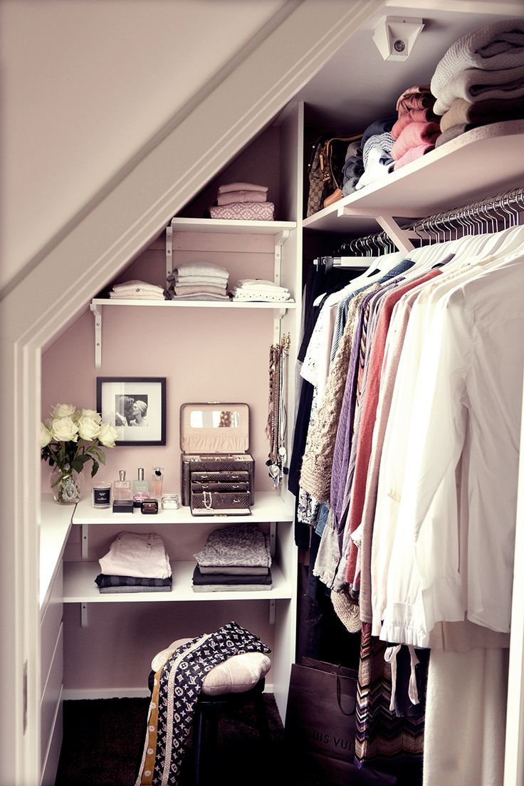 Stylish Small Walk in Closet Ideas Small Space