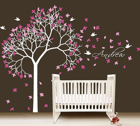 Tree wall decal for baby nursery Pictures