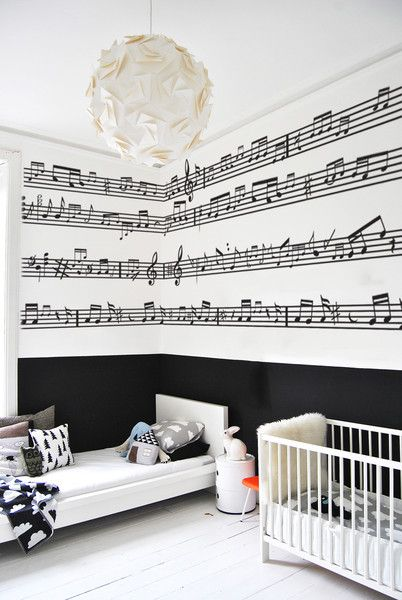 Vinyl bedroom wall stickers song lyrics