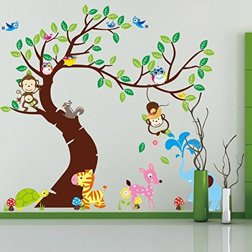 Wall Decals for Girls and Boys Bedoom - Peel and Stick, Removable, Eco-friendly Wall Stickers