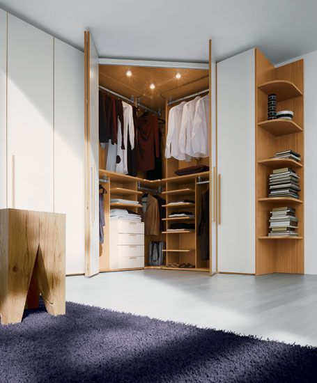 Wardrobe Design for Bedroom In Small Apartment