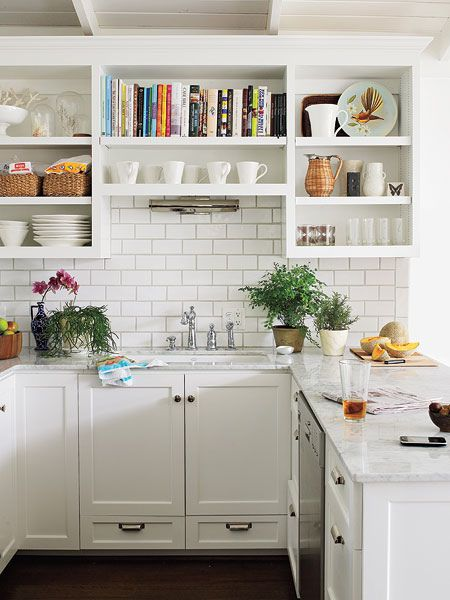 White Kitchen Cabinets For A Small Kitchen Pictures