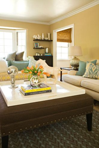 Yellow paint colors for living rooms pictures