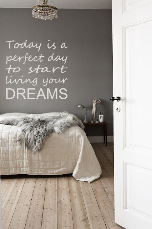 bedroom wall stickers quotes start living your dreams