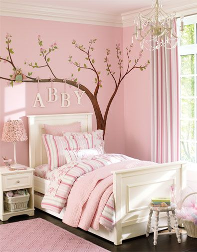 cherry blossom tree decal for wall little girls bedroom Pictures