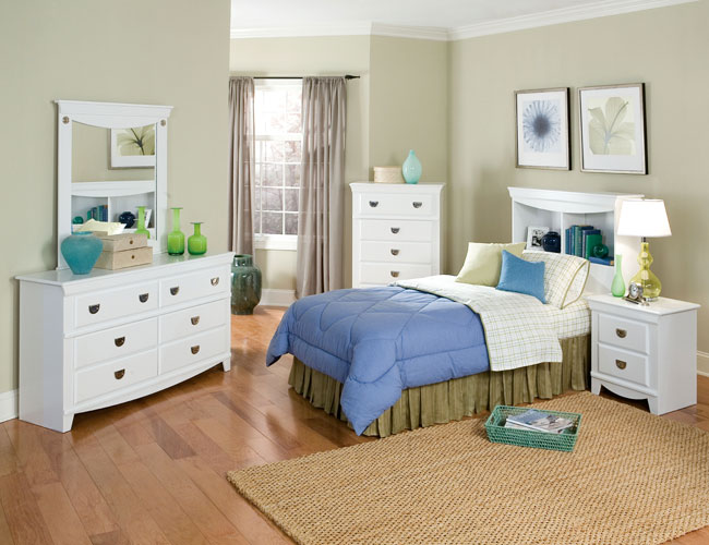 childrens white bedroom furniture decor and storage ideas photos 13