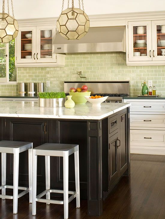 Adding Style And Drama To Your Kitchen Is Easy With A Colorful Backsplash