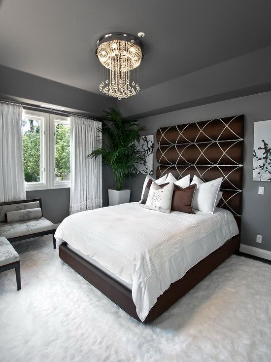 Black And White Small Master Bedroom Ideas Pictures