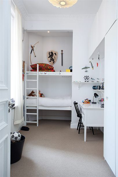 Built In Wardrobe Ideas Converting The Built In Wardrobe To Beds