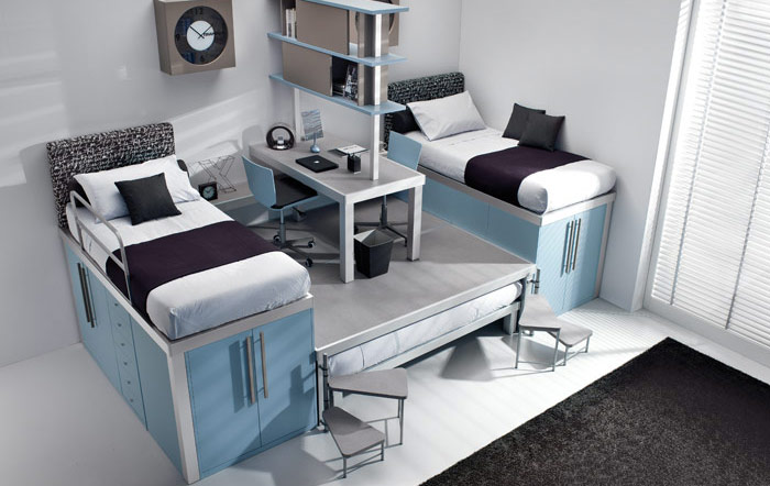 Bunk Bed With Desk For Bedroom Ideas