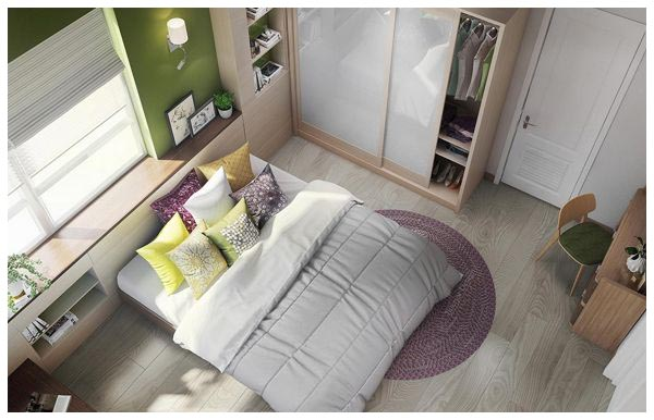 Cozy Small Bedroom Decorating Ideas With Modern Style