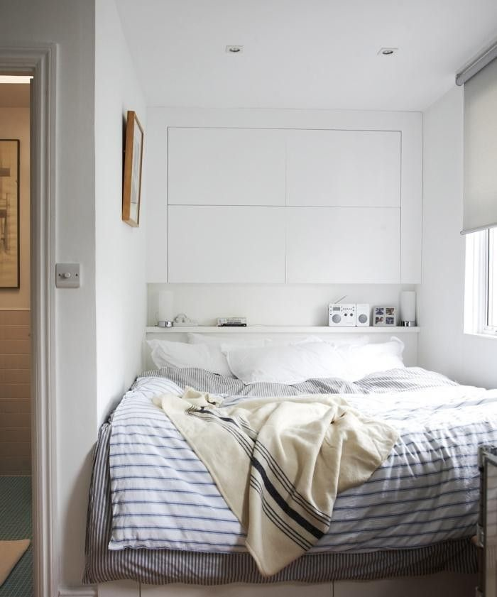 Custom Built Wardrobes Or Storage For Small Bedroom With Simple, Efficient, And Calm Design