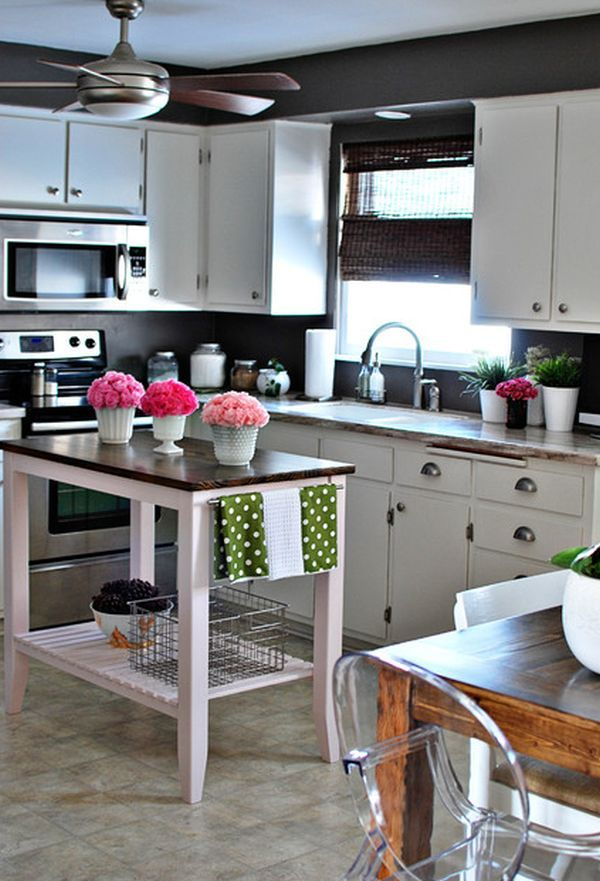 Small kitchen island furniture ideas kitchen island for for Kitchen island ideas small space