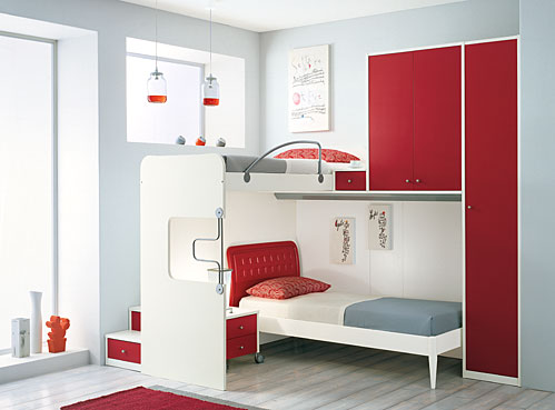 Double Bed For Teenagers For Small Room Decorating Ideas