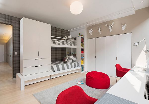 Double Bed For Teenagers Ultra Modern Bunk Beds